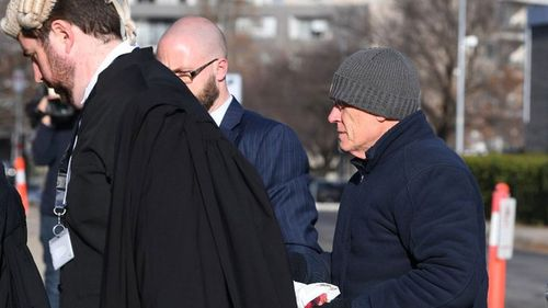 David Eastman's defence lawyers have claimed there is evidence the mafia could have been involved in the shooting of a senior AFP officer. (AAP)