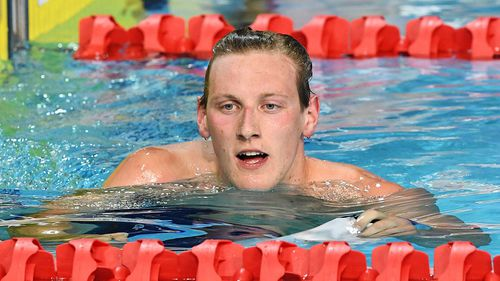 Mack  Horton, an Aussie medal prospect for the 2018 Commonwealth Games