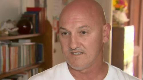 Steven Hullo spoke to 9NEWS following the death of his brother, George. (9NEWS)