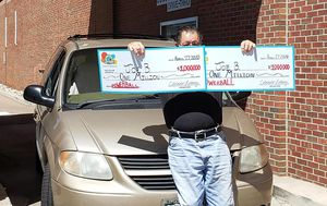 US man hits Powerball jackpot twice in the same day after playing same numbers for 30 years