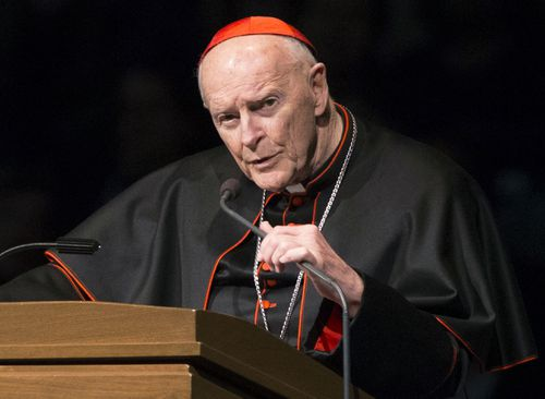 Theodore McCarrick, a former Newark archbishop who served as Washington, DC, archbishop from 2000 to 2006, was named.