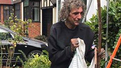 Homeless worker named John