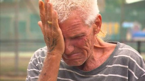 The dead man's next-door neighbour, Greg McDougall, has told how he was about to have dinner with Brett when he heard screams. (9NEWS)