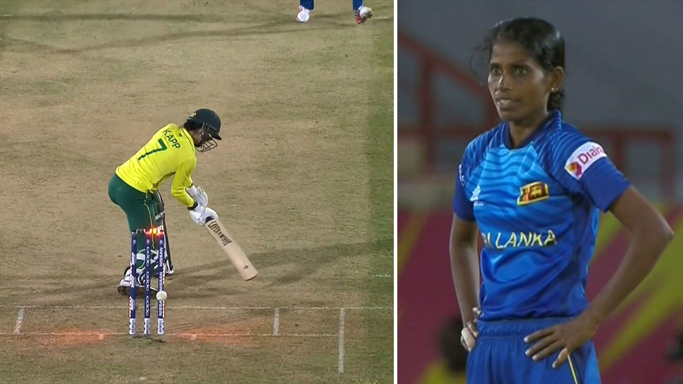 Women's World T20 stunned by bizarre non-dismissal in South Africa-Sri Lanka clash