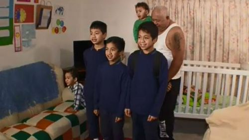 The Tamate family. (9NEWS)