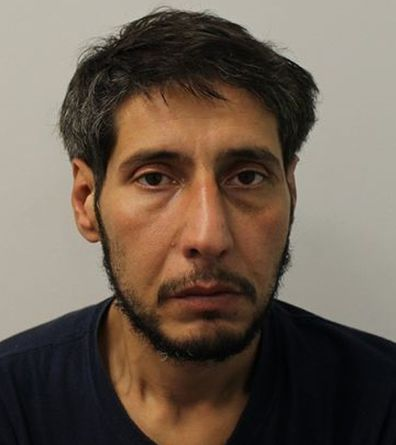 A mugshot released by UK police after Husseini failed to appear in court last month, however, has exposed his true appearance - and it's nothing similar to Schwimmer.
