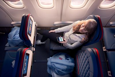Delta Air Lines' new business class suite onboard the upgraded