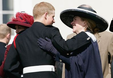 Tiggy Legge-Bourke Prince Harry hugging