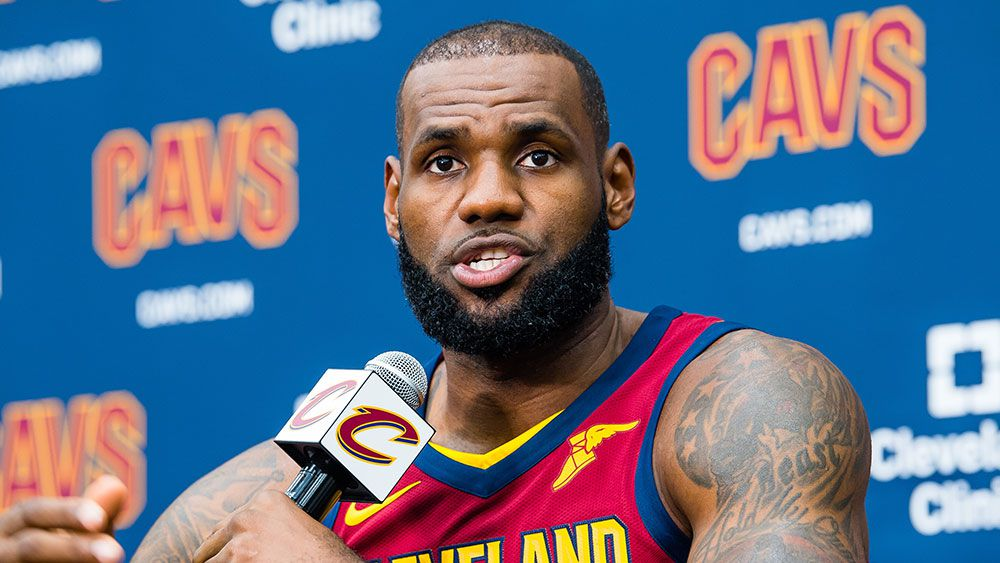 LeBron takes another shot at Trump