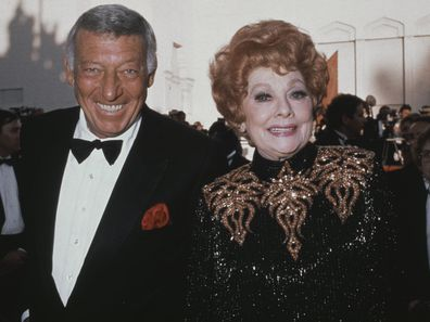 Lucille Ball with second husband Gary Morton.