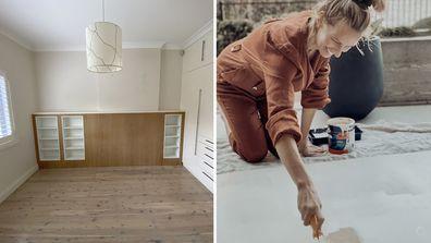 Inside Samantha Wills' bedroom renovation