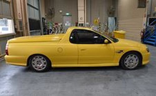 His yellow ute was found two days later at a local supermarket with the keys in the ignition.