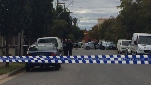 Police were called to the Port Adelaide street. (SA Police)