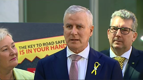 Deputy Prime Minister Michael McCormack has urged Australian motorists to strive to keep Good Friday 'fatality-free' on the nation's roads. Picture: 9NEWS.
