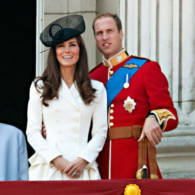 Kate's Trooping the Colour debut, 2011
