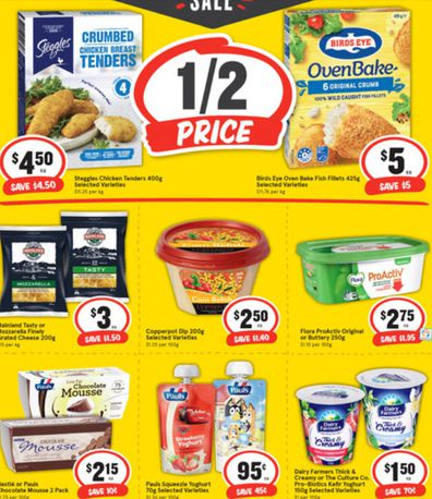 This week's specials at IGA cover all the food groups.
