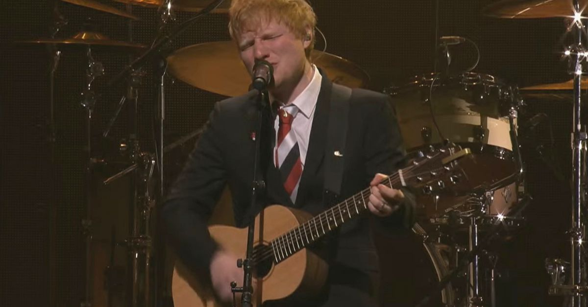 Ed Sheeran breaks down performing new song written in quarantine for Michael Gudinski as he leads star-studded State Memorial – 9TheFIX