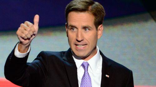 Joe Biden's late son Beau in 2012. (AAP)