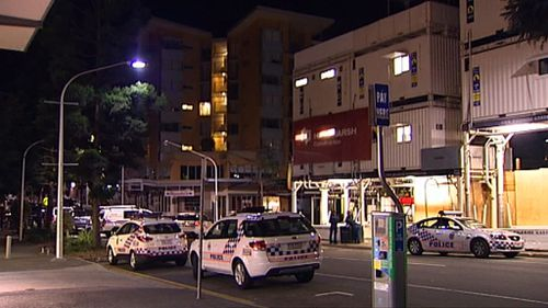 Police hunt caller after search of Kelvin Grove turns up no threat