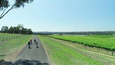 E-Biking around the Hunter Valley