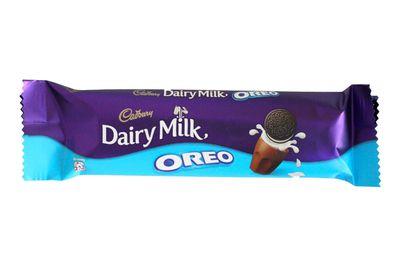 Cadbury Dairy Milk with Oreo bar: Over 5.5 teaspoons of sugar