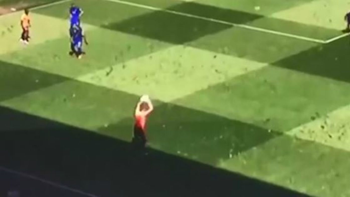 Unbelievable optical illusion causes football fan frenzy