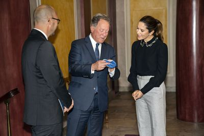 Princess Mary meets with Nobel Peace Prize winner, October 2020