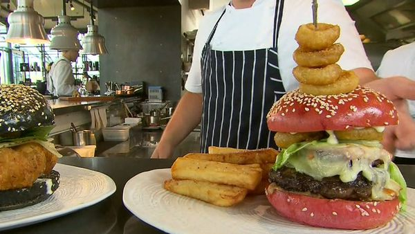 Victoria's most expensive burger