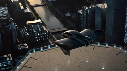 Porsche and Boeing are building a flying auto