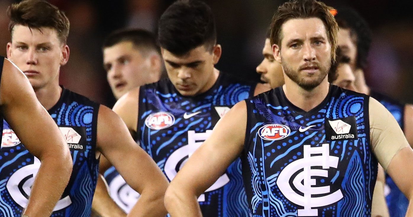 AFL legend roasts Dale Thomas after Carlton star was dropped