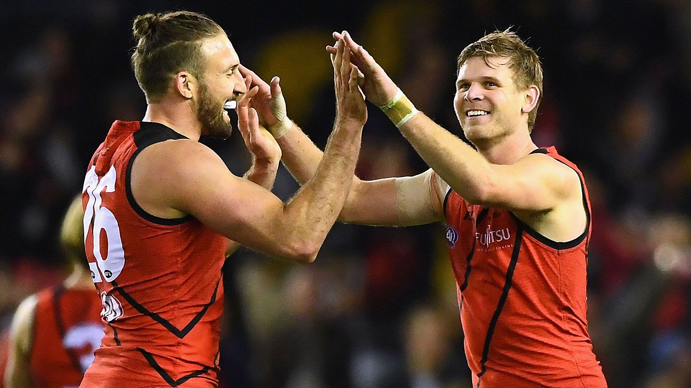 Doubts surrounding Cale Hooker and Michael Hurley's Essendon futures after sour finish to 2020