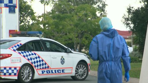 The man was pronounced dead at the scene. (9NEWS)