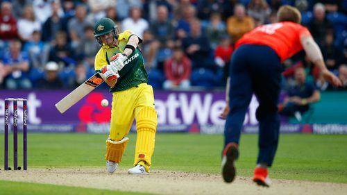 England win T20 in Cardiff despite Steve Smith's brilliance