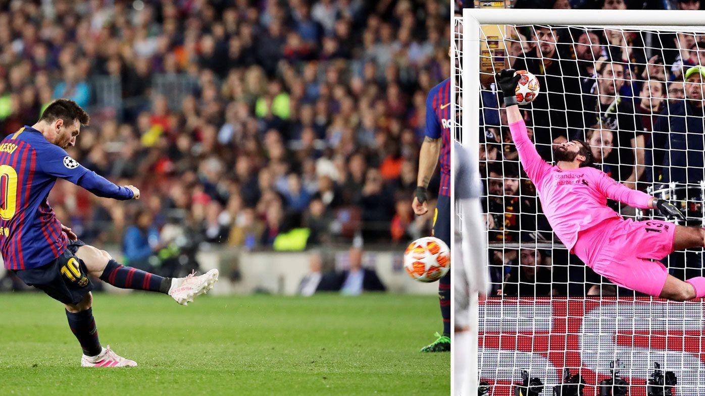 Messi and Suarez help Barcelona beat Liverpool in Champions League semi