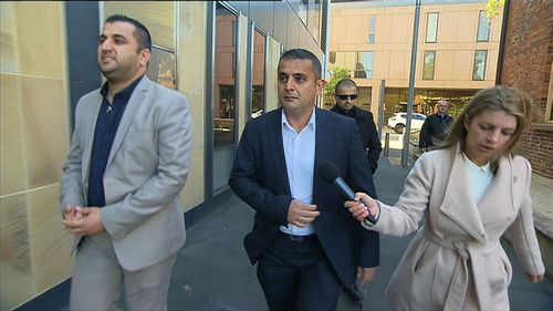 Sarmad Nisan has won an appeal after a judge agreed his truck's brakes were faulty. (9NEWS)