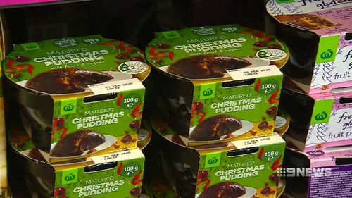 Woolworths said it sold more than a million fruit mince pies in the first few months it hit the shelves.