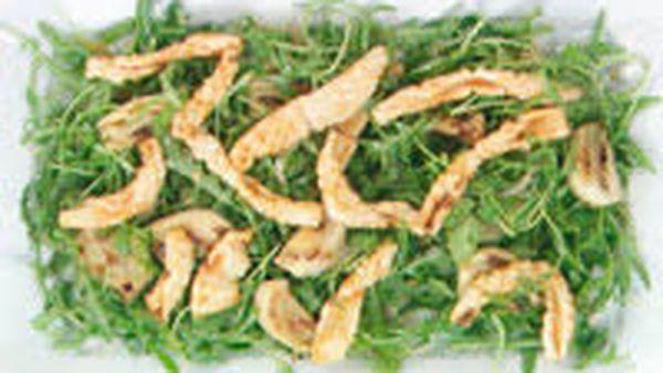 Cumin fried calamari