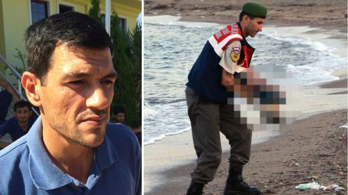 Father of drowned Syrian boy tried to save family