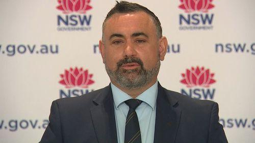 Deputy NSW Premier John Barilaro
