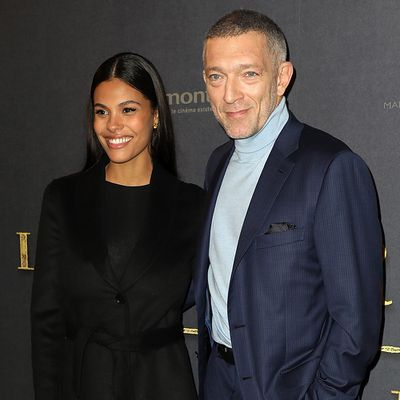 <strong>Vincent Cassel, 52, and Tina Kunakey, 21</strong>