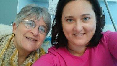 Mandy and her mum