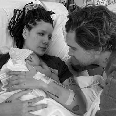 Halsey welcomes first child with screenwriter Alev Aydin