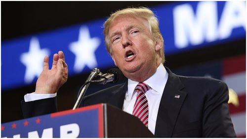 Donald Trump has shaken up his campaign team for the second time in two months. (AAP)