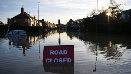 Britain holds emergency talks on 'unprecedented' flooding