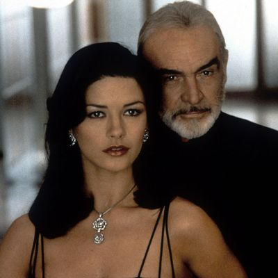 <p>Sean Connery and Catherine Zeta-Jones in <em>Entrapment</em> </p><p><strong>Age gap:</strong> 39 years 11 months</p>