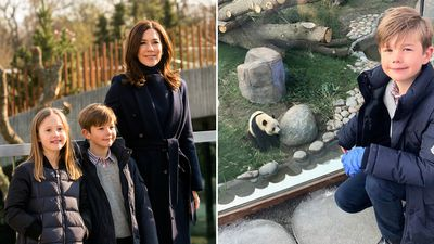 Princess Mary returns to the zoo, April 2019