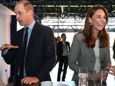 Prince William Kate Middleton attend Shout's Crisis Volunteer celebration event at the Troubadour White City Theatre 1