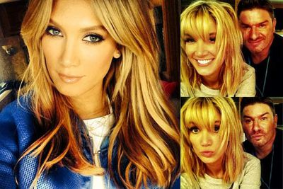 Uhhh, we freakin' love Delta's hair.... and how much she plays with it!
