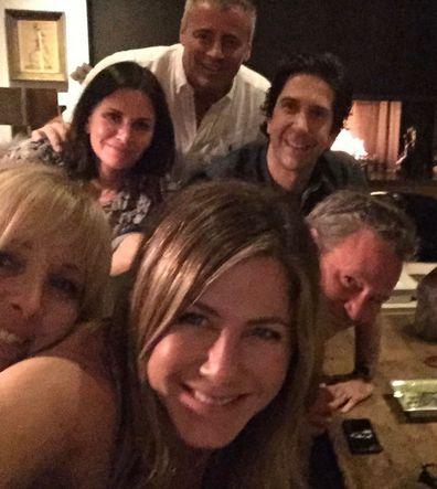 Friends, cast, Courteney Cox, Matt LeBlanc, Lisa Kudrow, Matthew Perry, Jennifer Aniston, David Schwimmer