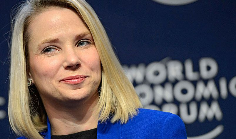 Yahoo chief executive Marissa Mayer. (AFP)
